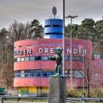 Neuer Grenzübergang Dreilinden